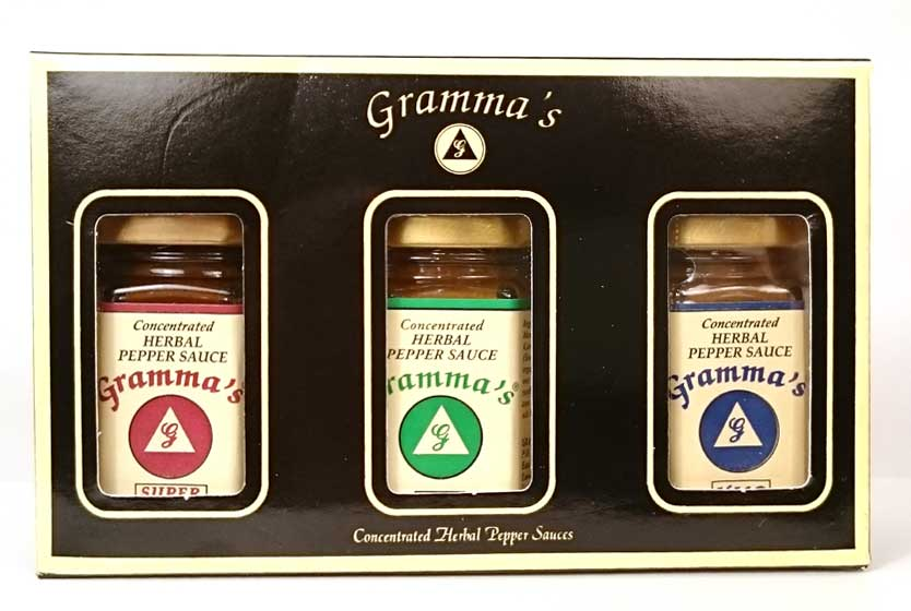 HERBAL PEPPER SAUCE - Standard Gift Set
